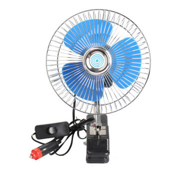 Harga 12V Portable Vehicle Auto Car Fan Oscillating Car Fan Auto Cooling Fan
