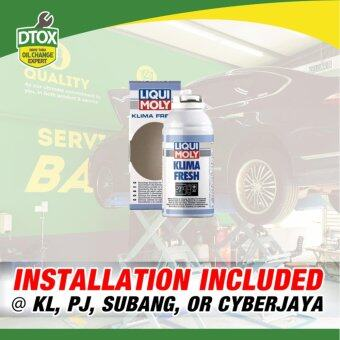 Harga Express Air-Cond Cleaning Service by DTOX Car Service (Liqui Moly Klima Fresh) (Service ONLY)