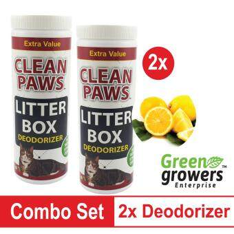 Harga 2x Cat Litter Deodorizer (Lemon Scent)