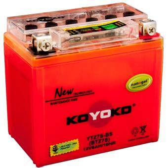 Harga KOYOKO NANOGEL BATTERY YTZ7S-BS 12V6AH /10HR