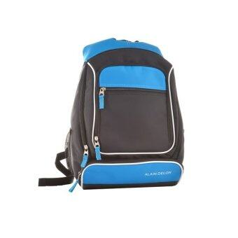 Harga Alain Delon Casual Laptop Backpack (Blue)