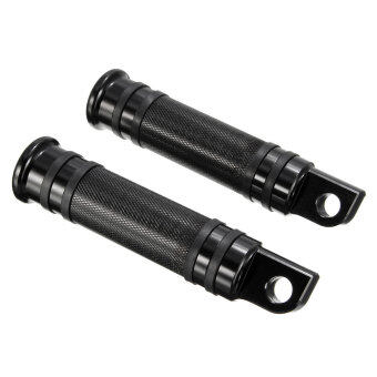 Harga Models Black CNC Rear Front Foot Pegs For Harley Touring Sportster Dyna Softail