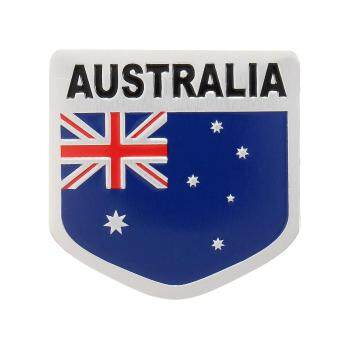 Harga Car Truck Alloy Aluminum 3D Emblem Badge Decal Sticker For Austrlia Australian Flag