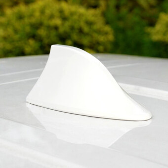 Harga Radio Shark Fin Antenna Car Arial Universal Fit For Ford Focus Fusion Kuga Ecosport Fiesta Falcon EDGE EVOS START C-MAX( White)
