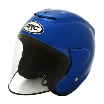 Harga ARC RITZ Helmet -Plain (Blue)