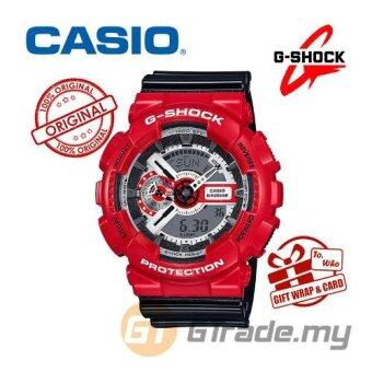 Harga CASIO G-SHOCK GA-110RD-4A Watch | Ducati Dead Pool Edition