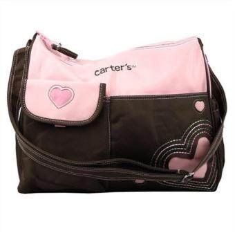 Harga MOMMY & BABY OUTING BAG - CARTER'S MOMMY TOTE BAG (PINK HEART)