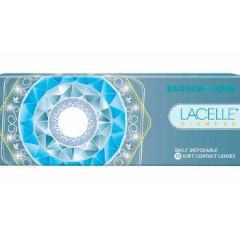 Harga Lacelle Champagne Brown Diamond Color Contact Lens 10s (-0.00)