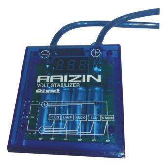 Harga Raizin 82% Voltage Stabilizer + Supplementary Earth - Blue