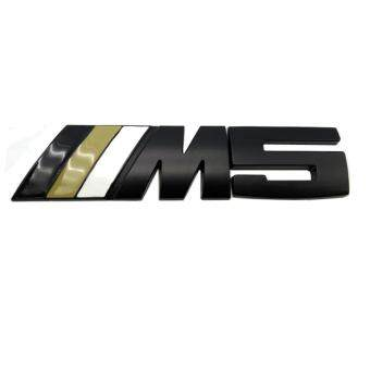 Harga Modified standard M5 Motorsport Metal Logo Car Sticker Rear Trunk Emblem Grill Badge for BMW E46 E30 E34 E60 E90 F10 F30 M3 M5 M6
