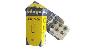 Harga NARVA GENUINE 12V 5W R5W (BA15s) 17171 - 10 pieces