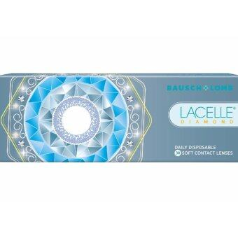 Harga Lacelle Champagne Brown Diamond Color Contact Lens 30s (-3.50)