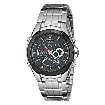 Harga Casio Men's EFA119BK-1AV Ana-Digi Edifice Stainless Steel Watch