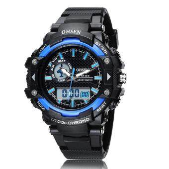 Harga Analog Digital Watches Men Quartz Digital Military Wristwatches Sports Waterproof Dive For Men LED Mens Watches Top Brand Luxury