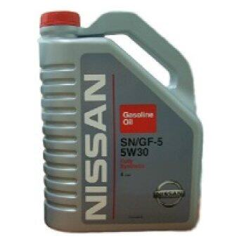 Harga Nissan Fully Synthetic Engine Oil SN/GF-5 5W-30 4L