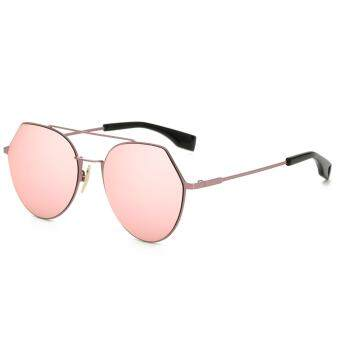 Harga 2017 new fashion personalized UV400 alloy sunglasses as gifts