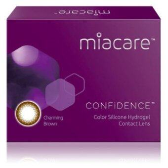 Harga Miacare CONFIDENCE Monthly Charming Brown Color Contact Lens (-3.25)