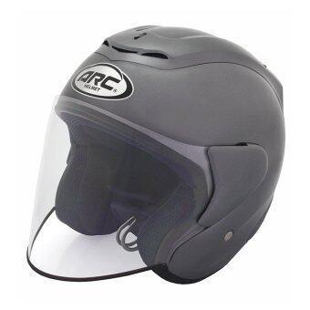 Harga ARC RITZ Helmet -Plain (Grey)