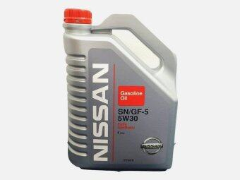 Harga Nissan SN/GF-5 5W30 Full Synthetic Engine Oil 4 Litre