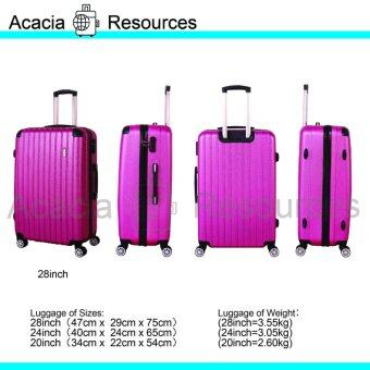 Harga ACGR Special Edition Stripe Luggage 28inch