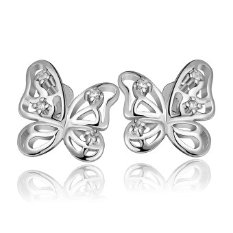 Harga ONLY 925 Silver Only Madama Butterfly Earrings