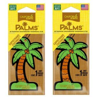Harga California Scents 2-PC COMBO Palms Hang Outs® Capistrano Coconut