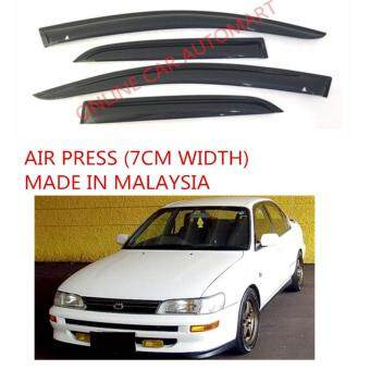 Harga AG Air Press Door Visor Wind Deflector (Made in Malaysia) - Small 7 cm Width for TOYOTA SEG/AE 100 YR1994