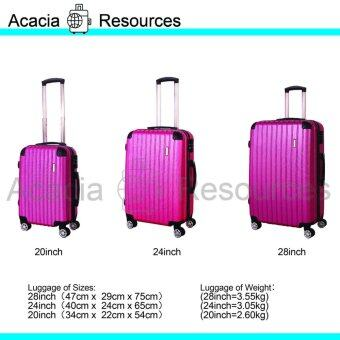 Harga ACGR Special Edition Stripe Luggage (28+24+20inch)