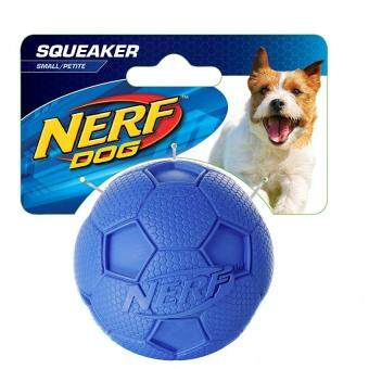 Harga Nerf Dog Soccer Squeak Ball Dog Toy Small