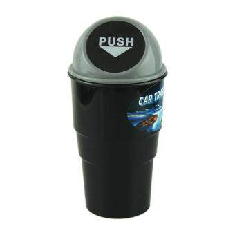 Harga NEW car garbage can Car Trash Can Garbage Dust Case Holder Bin Black