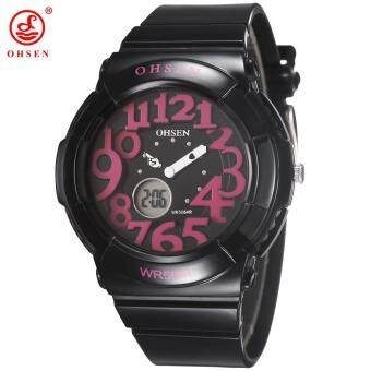 Harga OHSEN New Kids Watches Rubber Dress Watches Luxury Quartz Watch Casual Watch Kids Wristwatch relogio feminino For Girl Kids Gift