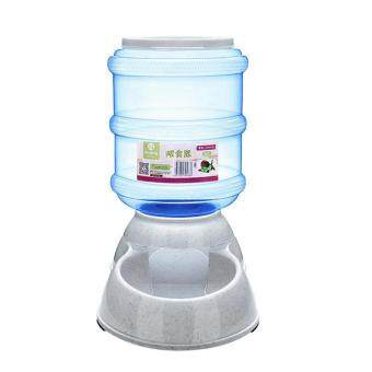Harga Cats and Dogs Pets Accessories 3.5L Large Automatic Pet Feeder Drinking Fountain Bowl - Light Blue