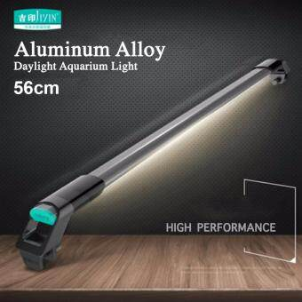 Harga (56CM) JIYIN Aquarium LED Light High Quality Super Bright Profession Bulb With Aluminum Alloy Case Waterproof Bar With Fish Tank Lighting Stand Daylight Tube AC100V-240V