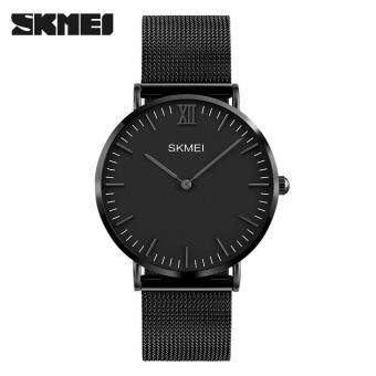 Harga SKMEI Watch 1181 Brand Men's Quartz Fashion Casual 30M Waterproof Simple Ultra-thin Design Wristwatch