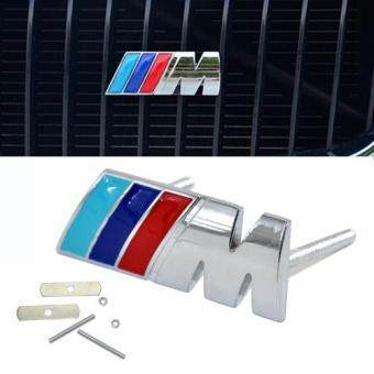 Harga M Logo Car Sticker Rear Trunk Emblem Grill Badge for BMW E46 E30 E34 E60 E90 F10 F30 M3 M5 M6