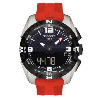 Harga Tissot T091.420.47.057.00 Men's T-Touch Expert Solar Power Silicone Strap Watch