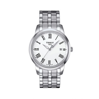 Harga Tissot Men's Silver Stainless Steel Classic Dream Watch T033.410.11.013.01