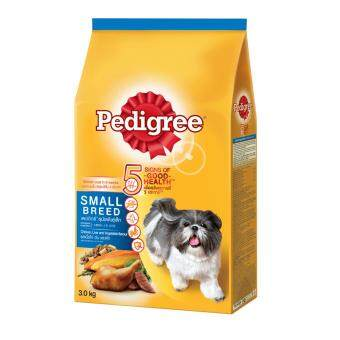 Harga PEDIGREE Small Breed Chicken, Liver & Vege 3.0kg