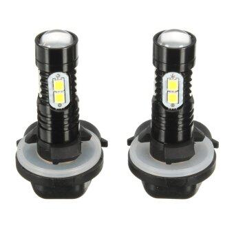 Harga 2x 50W 881 889 6000K Super White LED Fog Driving DRL Lights Bulb