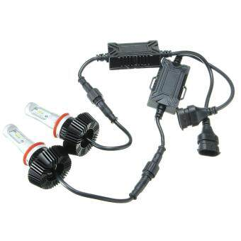 Harga 2x H8/H11 LED Headlight Kit High/Low Beam Bulbs 6000K