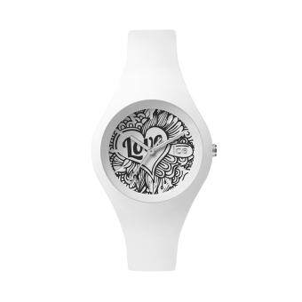 Harga ICE-Watch-ICE love - White Doodle - Small