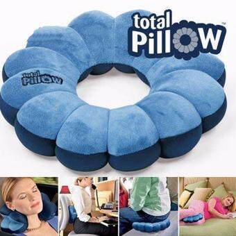 Harga NaVa ASOTV Total Pillow Twistable Microbeads Travel Neck Support Pillow