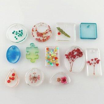 Harga Cocotina 12 Designs Cabochon Silicon Mold Mould For Epoxy Resin Jewelry Making DIY Craft
