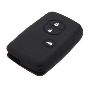 Harga Remote Fob Shell Key Holder Case Cover for Toyota Land Cruiser Prado(2010) 3 Buttons