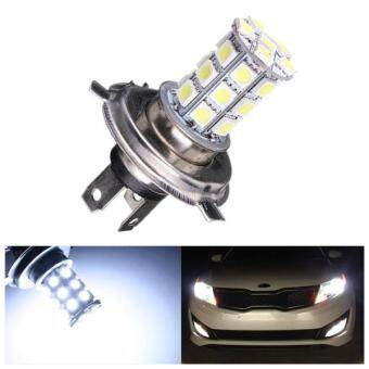Harga 3PCS H4 9003 27SMD 5050LED Car High/Low Beam White Fog Driving Headlight Bulb