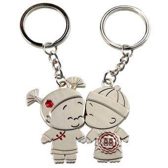 Harga Kissing Love Cute Couple Keychain Love Keychain Key Ring