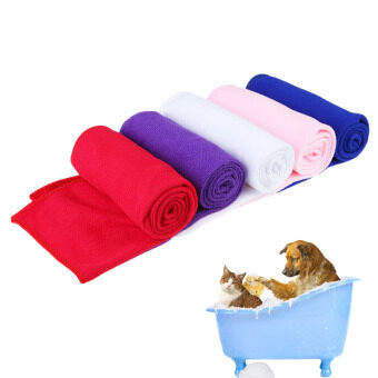 Harga Pet Supply Fast Drying Pet Grooming Microfiber Shower Mat Towel for Pet Dog Cat