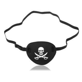 Harga NUOLUX Pirate Skull Crossbone Children Kids Eye Patch Eye Mask for Lazy Eye (Black)