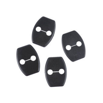 Harga New 4PCS Car Door Striker Cover Lock Protector Antirust Case forToyota Highlander 2008+ FJ Cruiser 2010+