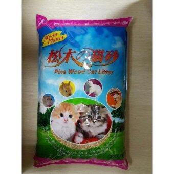 Harga (FOC x1 big scoop) MEOW PLANET PINEWOOD CAT LITTER 9KG